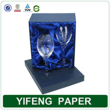 Guangzhou manufacturer luxury clear wine glass packing box