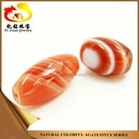 Wholesale Price High Quality Smooth Oval Shaped Natural Agate Stone
