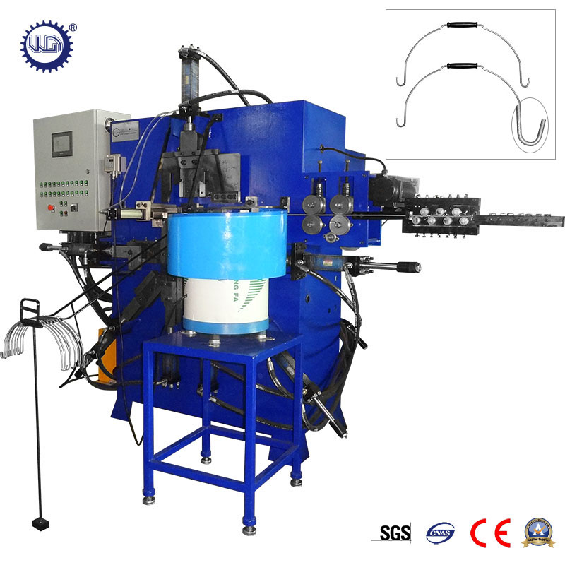 Hydraulic Galvanized Steel Wire MS Bucket Handle Making Machine