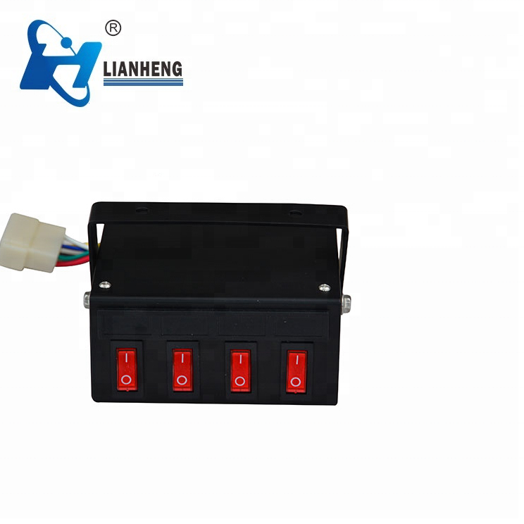 Controller box of warning lights light bar, warning lights controller
