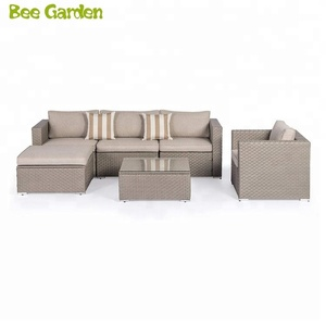 wicker rattan patio furniture outdoor sectional garden sofa