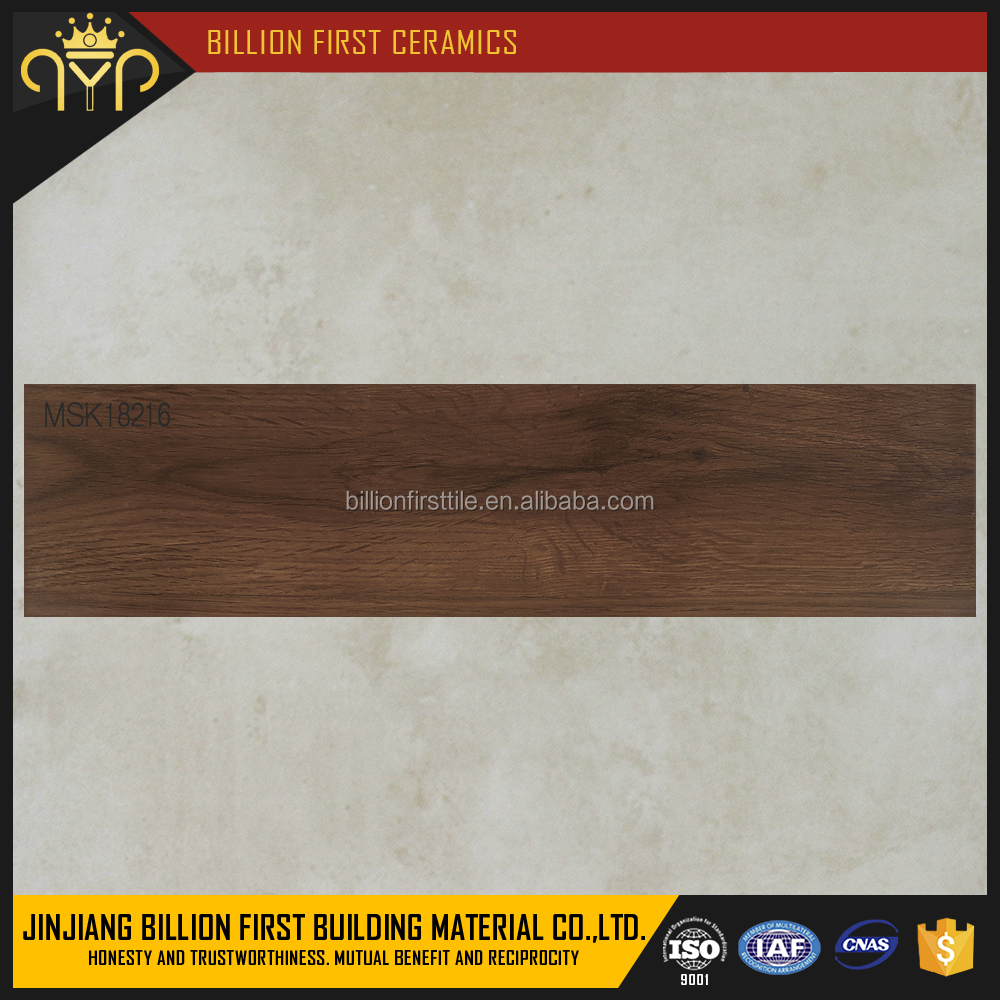 150x800mm Anti-slip Wood Look Porcelain Tile Rustic Floor Tiles for Floor