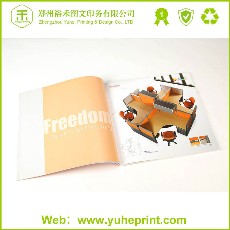 Offset printing full color factory price fashion book design printing catalog china