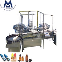 High intelligence full automatic eye drop filling machine / essential oil bottle filling machine line