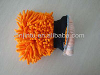 chenille glove/cleaning product