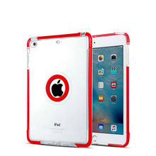 black white red TPU+ PC Case for iPad Mini 1/2/3