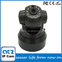 ATZ Cam Wifi IR Night Vision Pan &Tilt wireless P2P IP Camera with QR code scanner mobile phone App