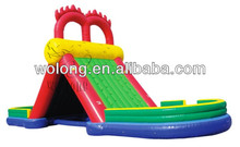 Inflatable Dragon jumping slide/inflatable sports/inflatable sports games