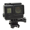 High quality Black Version 30M gopros waterproof housing case for GoPros 4/3+ with bracket
