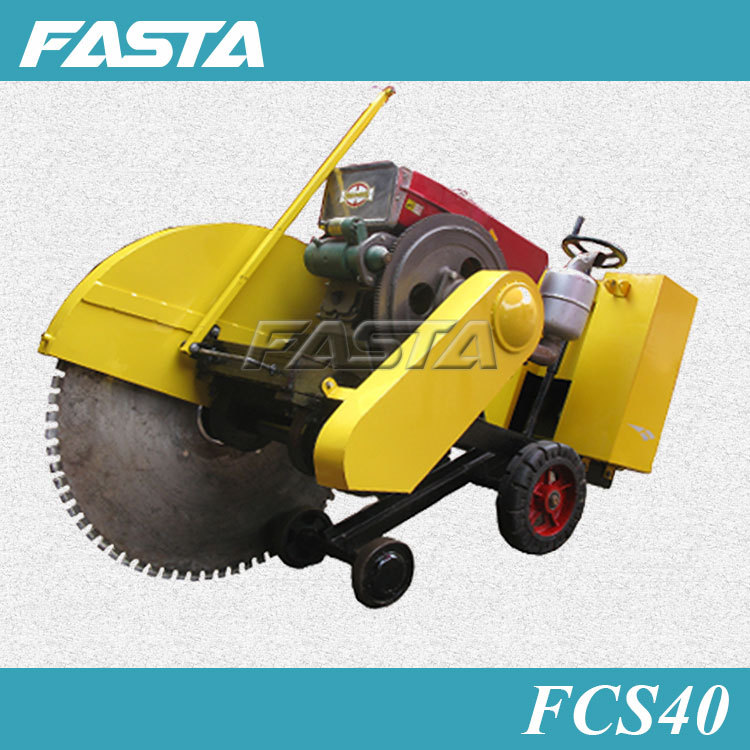 Asphalt cutter concrete road cutting machine