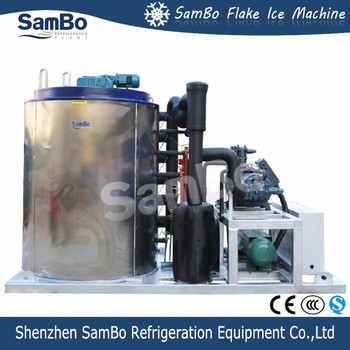 2017 Brand New CE Quality SamBo 30T Industrial Flake Ice Maker Machine