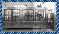 Automatic soda drink filling and capping machine