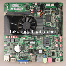 Intel Mini-ITX Motherboard D2550MT,similar to DN2800MT/DN2800MTE, (AIO),VGA&HDMI, fanless,1 PCIe mini card with mSATA,For HTPC.