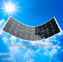 For RV,golf car, tent, boats ,yachts and cabin cruisers flexible solar panel 12v