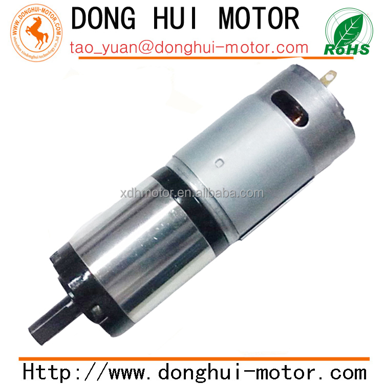 High torque low rpm dia 36mm dc planetary gear motor with for Low rpm dc motor