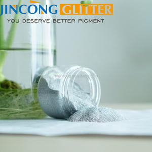 Bulk aluminum glitter powder for plastic jnjection