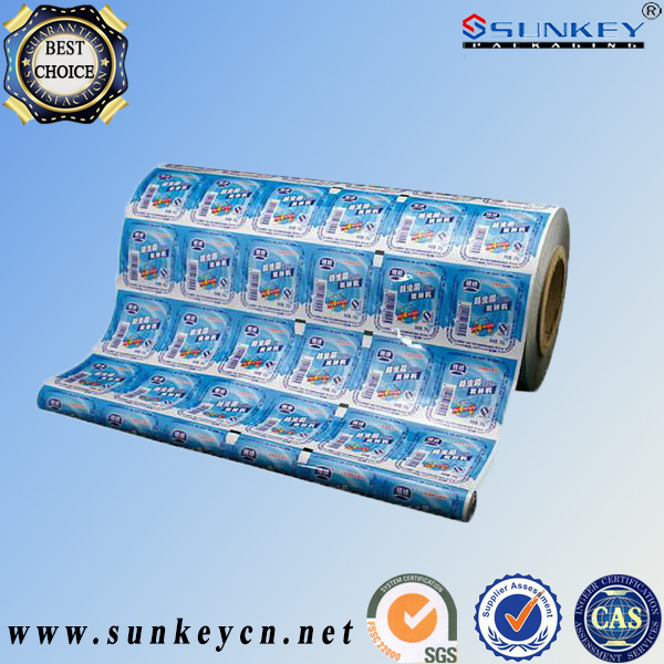 high barrier aluminum foil food film packing