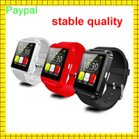 paypal accept hot selling Step motion meter 1.44' TFT u8 android 4.4 smart watch