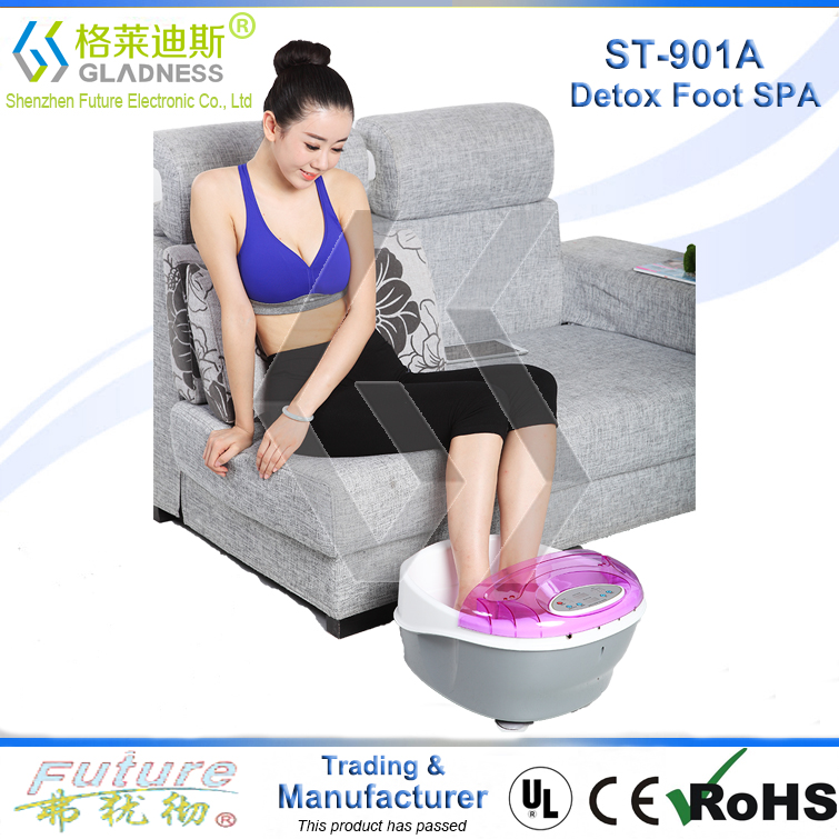 Factory Fashionable Multifunction Detox Foot Bath Detoxification Ion Cleanse Machine Seen On TV
