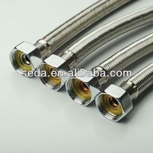 sanitary ware stainless steel braided flexible toilet/faucet connector