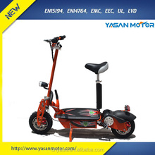 Big Power 48V 1600W Lead Acid Folding Electric Scooter 2000W Motor Power Options for Adult