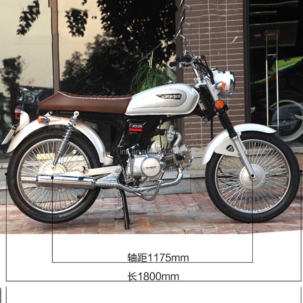 Chinese cheap 50cc 110cc 125cc 150cc retro moto bike motorcycle