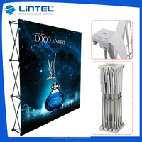 Custom trade show exhibit pop up display event backdrop stand