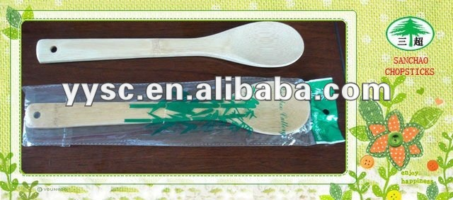 High quality bamboo spoon