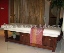 Solid Wood Thai Massage Bed of SPA Furniture(11D08B)