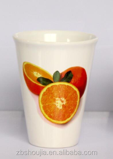 Wholesale Fresh Orange Scent Ceramic Coffee Cup