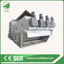 food processing plant wastewater treatment equipment sludge dewatering