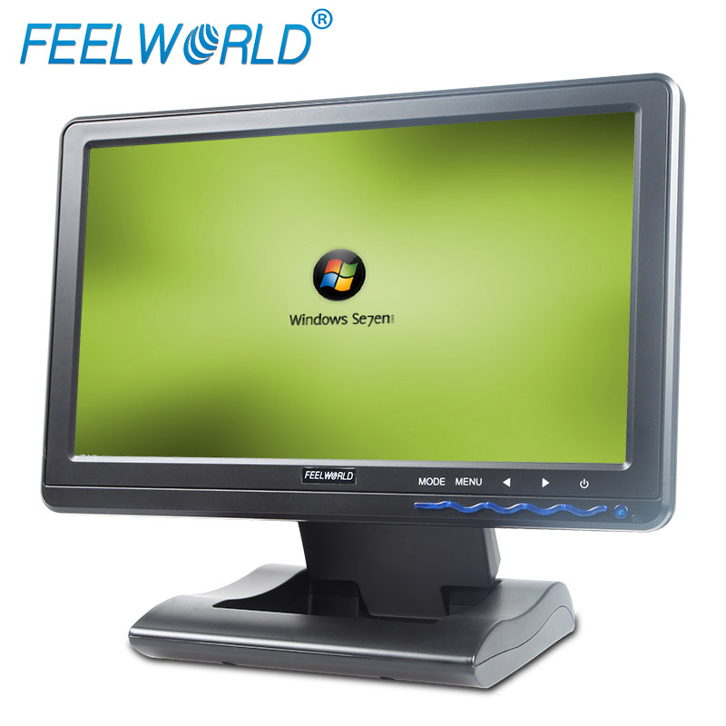 VGA+USB Cable color tft led lcd speak built in touch pen include 10.1 inch capacitive monitor for taxi atm kiosk display