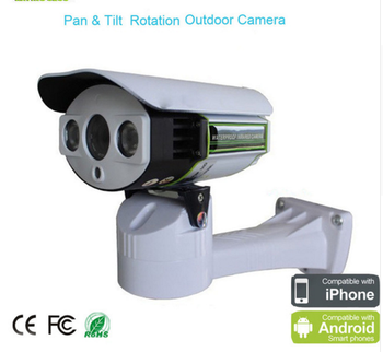 Outdoor waterproof mini cctv HD IP ir ptz bullet cameras with audio for surveillance