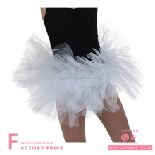 Hen party childrens crochet tube top tutu skirts sexy performance dancer wear tutu dresses kids wholesale