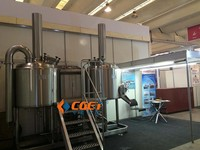 500l stainless steel pub micro brewery equipment