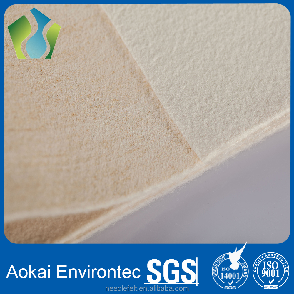 High temperature resistance metamax aramid (Nomex) non woven needle punched felt