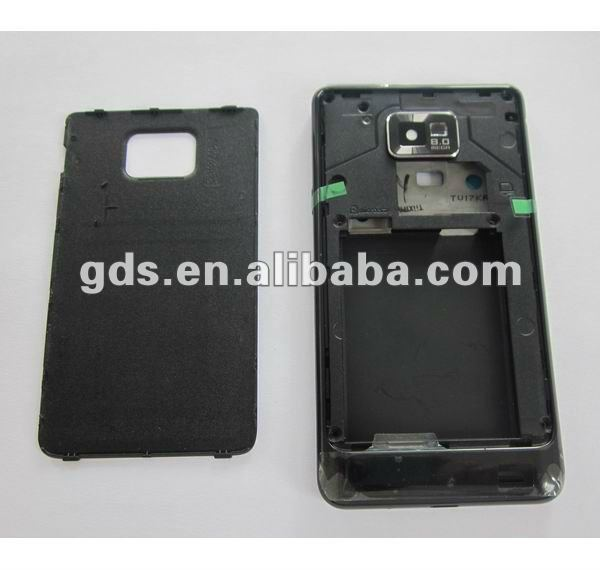 For Samsung Galaxy S2 i9100 Full Housing Cover Case (Black)