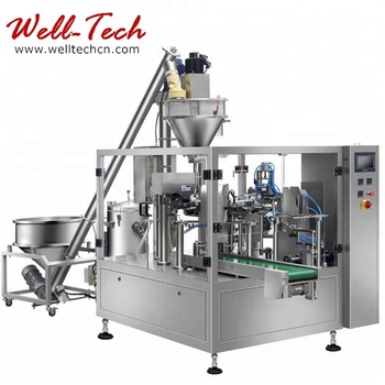 WT8-200/300-P Rotary Weighing & Packaging Line for Powder