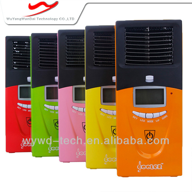 Desktop mini titan ceramic heater of air conditioner shape