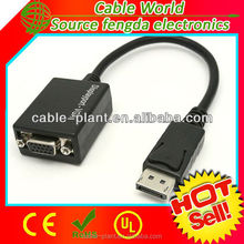 new productsnew mini DisplayPort male to VGA female cable adapter