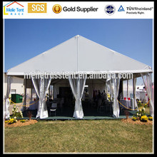 marquee wedding ceremony clear white Nigeria tent for car wash