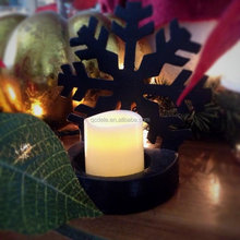 Battery Powered Unscented Flameless LED Tea Light Candles
