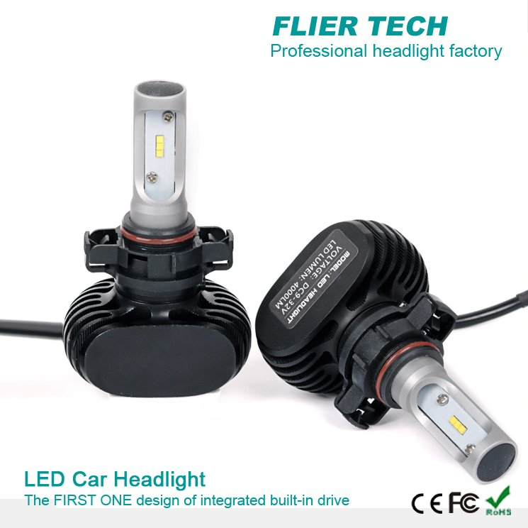 New CSP H8 headlight led car without fan with high quality