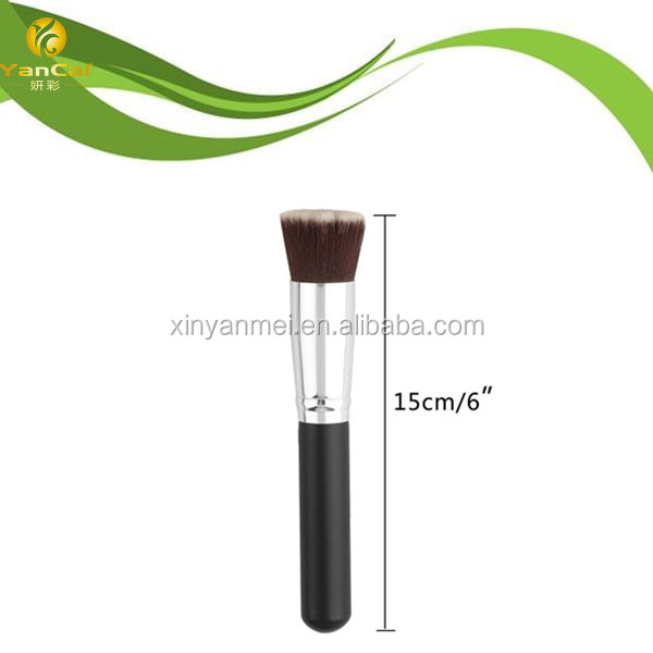 Wooden Handle Nylon Hairs Foundation Brush