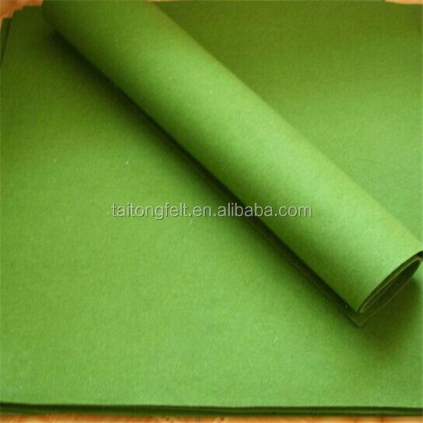 3mm natural color wool felt