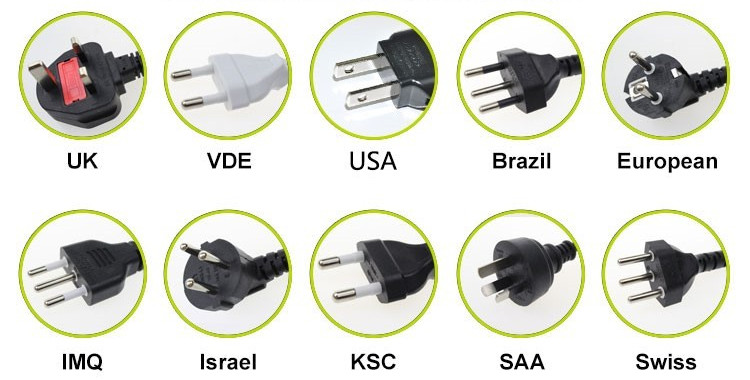 DOE VI 100-240v switching power supply 12w wall mount Charger 12v 1000ma AC DC power adapter/adaptor
