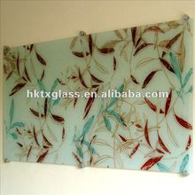 Tempered printing indoor decorative glass