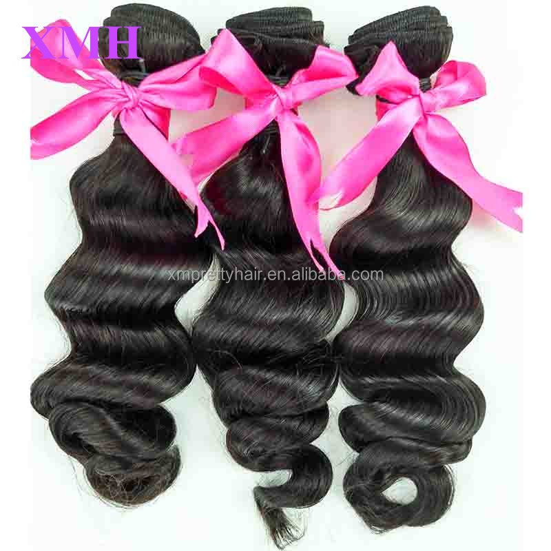 2016 Cheap Human Hair Extension On Sale Premium Natural Human Hair With Tangle Free Wholesale Full Head Human Hair Weaves