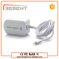 Universal wall socket usb charger ac/dc power adapter 12v 1a power adapter with cable+1 usb port