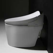 Unique design hot sale smart self flush round toilet seat soft close,vacuum toilet system